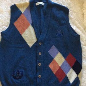 Lyle & Scott Wool Cardigan Sweater